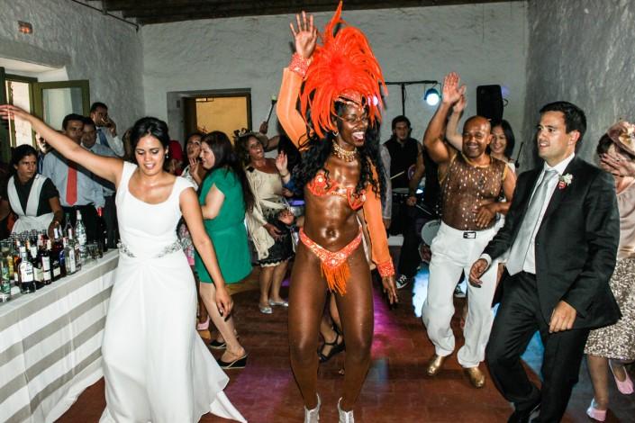 batucada para bodas y despedidas